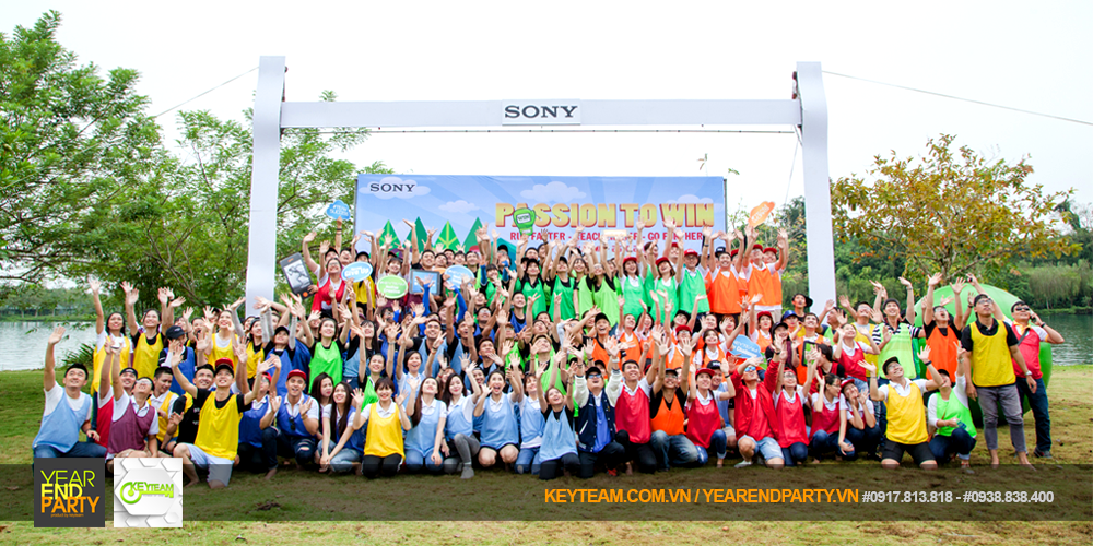 SONY TEAM BUILDING – PASSION TO WIN